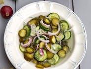 Salată de castraveți murați