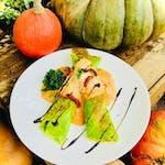 Zestaw lunch zupa +Naleśnik Italiano