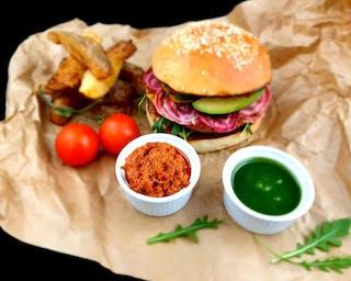Burger Vegetariański