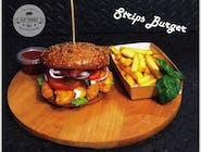 Strips Burger XXL zestaw