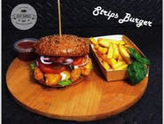 Strips Burger zestaw
