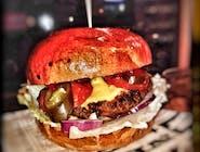 Burger Pac Pepperoni z serem duży 200g