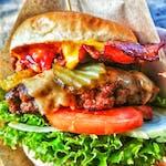 Burger Pac Cheese&Bekon - Zestaw