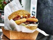 Burger Pac Mocny Full - Zestaw duży 200g