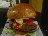 Burger Pac Diablo (bardzo ostry) duży 200g