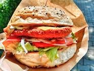 Burger Pac Crispy Chicken - Zestaw