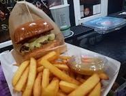Burger Pac Cheese -  Zestaw mały 100g