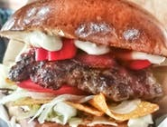 Burger Pac Diablo (bardzo ostry) -  Zestaw