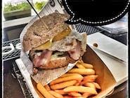 Burger Pac Jajco -  Zestaw mały 100g