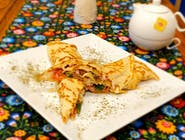 Tortilla naleśnikowa z bekonem