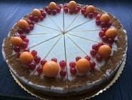 Mrkvovo-škoricový raw cake 19cm