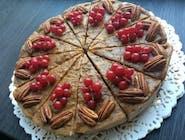 Raw karamel torta