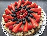 Čokoládová raw torta 25cm