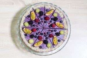 Čučoriedková raw torta