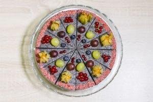Makový raw cake 19cm