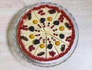 Marhuľovo-pistáciová raw torta 25cm