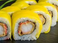 California Krewetka tempura z mango