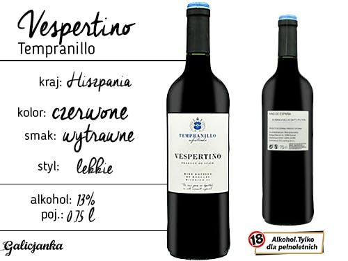 Vespertino Tempranillo 0,75 l