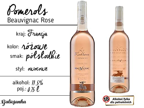 Pomerols Beauvignac Rose 0,75 l