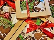 Paczuszka ze świątecznymi pierniczkami (duża)