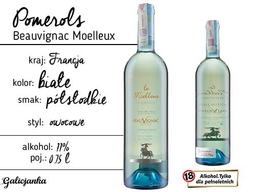 Pomerols Beauvignac Moelleux 0,75 l