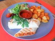Burrito z chili con carne