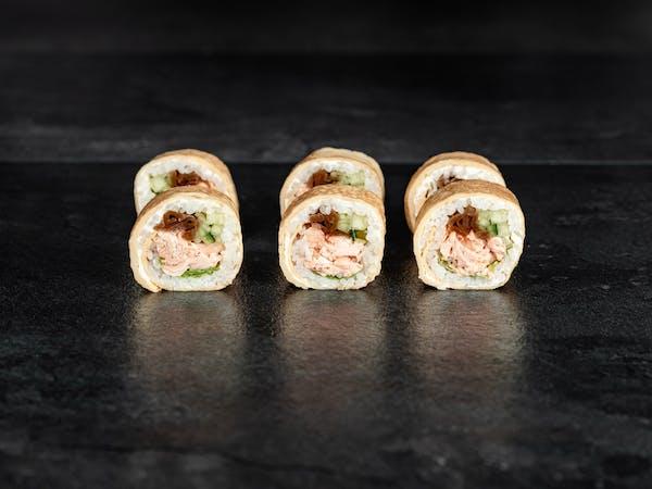 Tamago roll sake grill