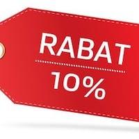 Rabat -10% na wszystkie zamówienia online