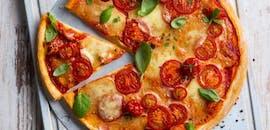 10% rabatu na drugą dużą pizze.