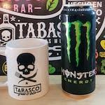 Monster 0,5 l + Kubek Tabasco