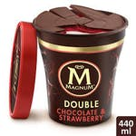 Magnum Double Chocolate & Strawberry 500ml