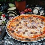 Pizza Salsicia e Cipolla