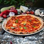 Pizza Salami Chorizo