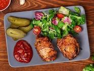 Szaszłyk ormiański z uda kurczaka
