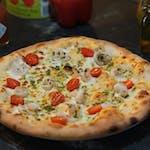 Pesto Gamberi- na bazie sosu białego
