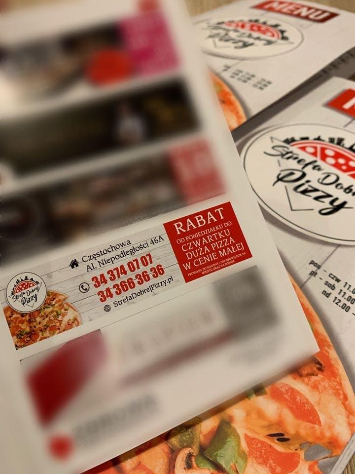 Strefa Dobrej Pizzy Czestochowa Zamow I Zaplac Online Strefa Dobrej Pizzy Czestochowa