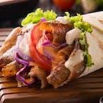 Kebab / cienki chleb