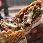Kebab z serem (cienki chleb) średni