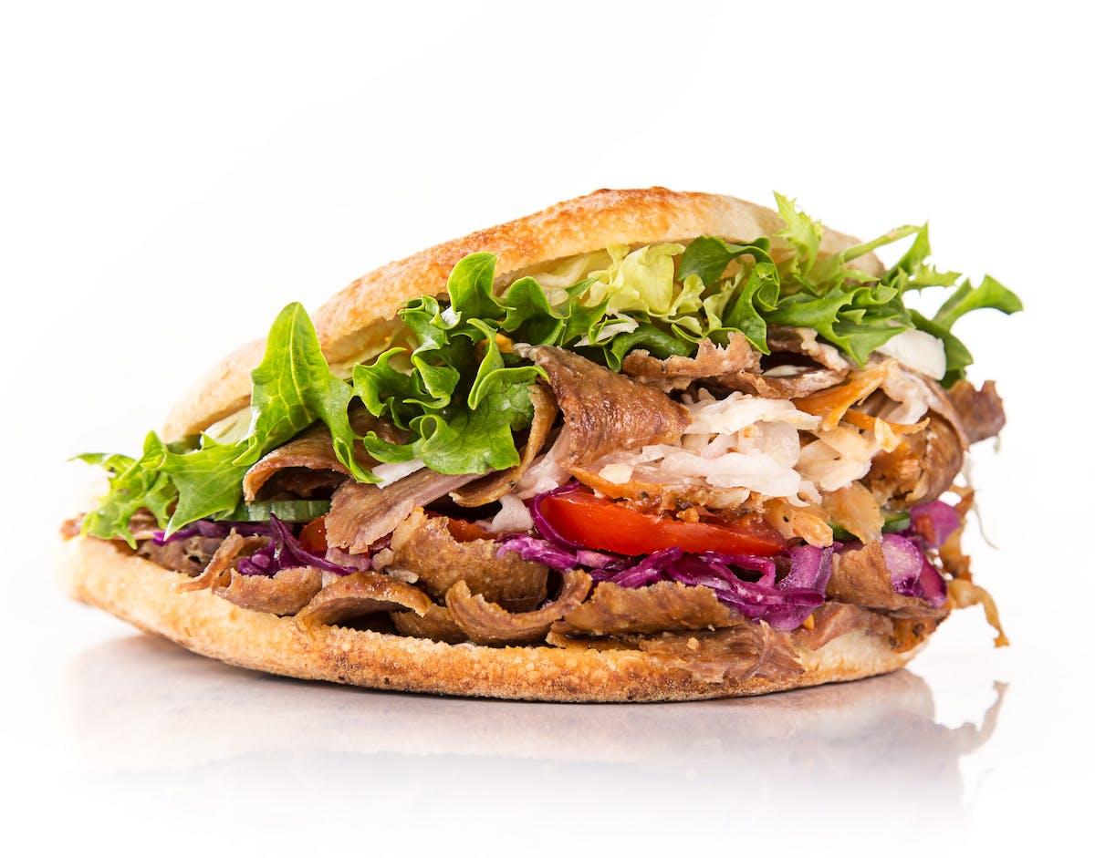 Kebab Bułka