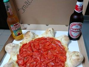 Pizza+piwko idealne połączenie
