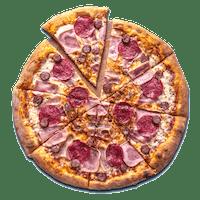 Duża pizza w cenie małej - 3-składnikowe