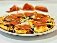 Pizza Prosciutto-Funghi
