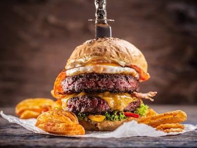 Dvojitý hovädzí burger