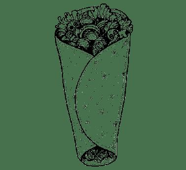 Lawasz - Tortilla kebab