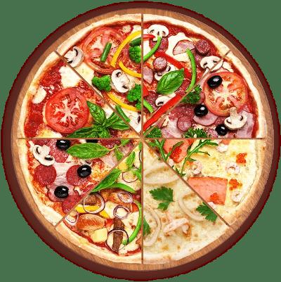 Pizza 3+1 Gratis!