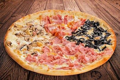 Mega Pizza Quattro Stagioni