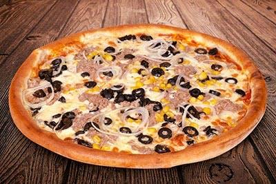 Mega Pizza Tonno e Cipola