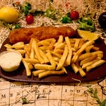 Zagrebački odrezak+pommes+tartar+kruh