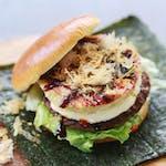 Okonomiyaki Beef Burger
