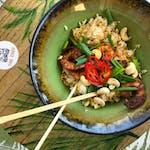 Ryż smażony z krewetkami